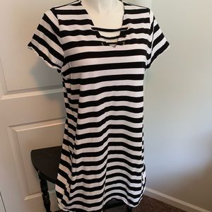 Michael Kors 2X Stripe Dress